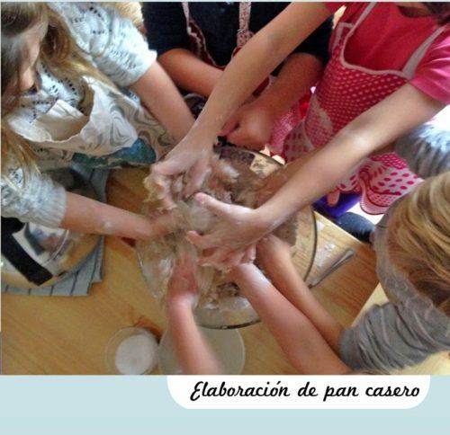 ELABORACION PAN CASERO